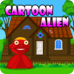 Cartoon Alien Escape