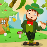 Cartoon Leprechaun Rescue