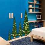 Christmas Blue House Escape