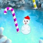 Christmas Candy Cane Forest Escape
