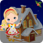 Christmas Dollhouse Escape