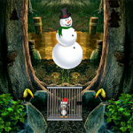 Christmas Penguin Escape 8BGames