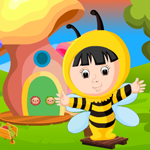 Cute Bee Girl Rescue