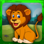 Cute Lion Rescue Games4Escape
