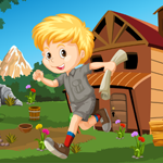 Cute Little Boy Rescue Games4King