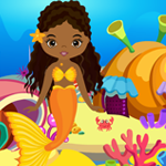 Cute Mermaid Girl Rescue