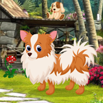 Cute Puppy Rescue Games4King