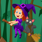 Cute Witch Rescue