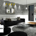 Dark Grey Living Room Escape