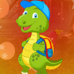 Dinosaur Escape With Backpack