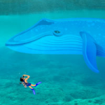Escape From Blue Whale