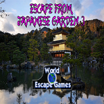 Escape From Japanese Garden 3 WorldEscapeGames