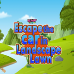 Escape The Car In Landscape Lawn