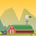 Escape The Helicopter From Green Valley OnlineGamezWorld