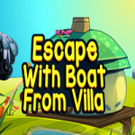 Escape With Boat From Villa