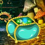 Fantasy Emerald Treasure Escape