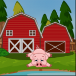 Farmhouse Pig Escape