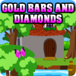 Find Gold Bars And Diamonds