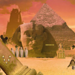 Find The Egypt Temple Key