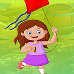 Flying Kite Girl Escape