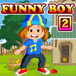 Funny Boy Rescue 2 Games4King