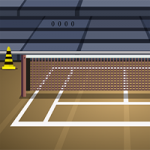 Genie Tennis Court Escape