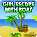 Girl Escape With Boat