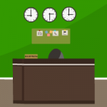 Green Office Room Escape