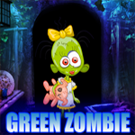 Green Zombie Girl Rescue