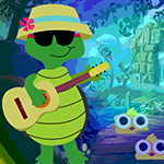 Guitar Playing Tortoise Escape
