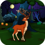 Halloween Deer Hunting Forest Escape