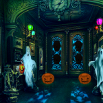 Halloween House Escape 8BGames