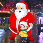 Magical Santa Little Girl Rescue