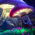 Mushroom Fantasy Village Escape