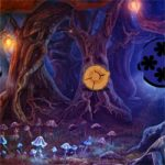 Mystical Night Forest Escape