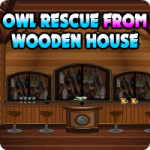 Owl Rescue From Wooden House