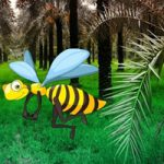 Palm Forest Honeybee Escape