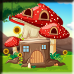 Red Mushroom House Escape