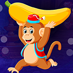 Running Banana Monkey Escape