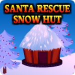 Santa Rescue From Snow Hut