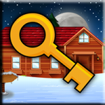 Snow Cabin Key Escape