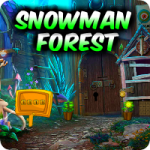 Snowman Forest Escape