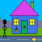 Stickman Bicycle Escape