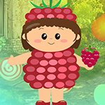 Strawberry Girl Escape Games4King