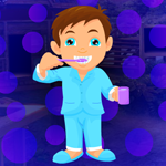 Tooth Brushing Boy Escape