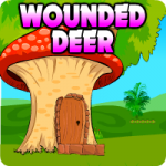 Wounded Deer Escape